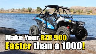 4. RZR XP 1000 vs 900,  CT Racing 900 Engine Package Beats the XP1K