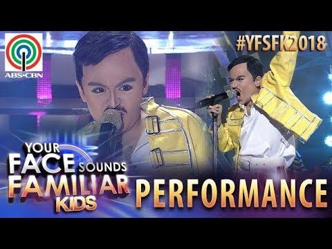 Your Face Sounds Familiar Kids 2018: Esang De Torres as Freddie Mercury   I Want To Break Free (видео)