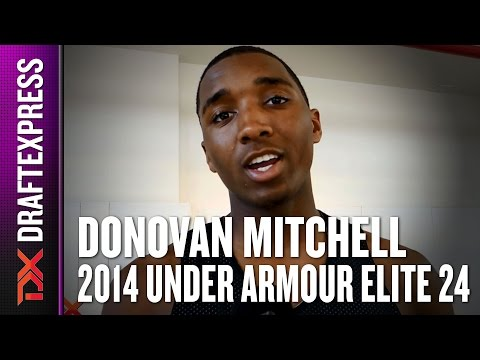 2014 Donovan Mitchell Interview - DraftExpress - AdidasNations
