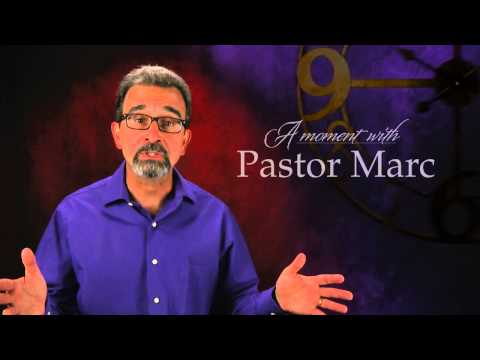 "A Moment with Pastor Marc #12<br /><strong>""Apology""</strong>"