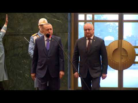Președintele Republicii Moldova a avut o întrevedere cu Președintele Republicii Turcia