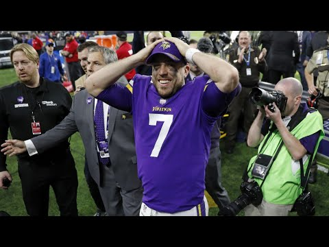 Video: Quarterbacks will be key for Vikings, Eagles