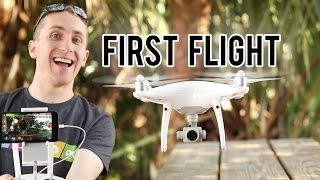Today I fly the Phantom 4 Professional for the first time. I love it! I think I might like it more than the DJI Mavic Pro. 1 inch 4k sensor is what sold me. ...