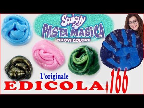 SQUISHY PASTA MAGICA Nuovi Colori PROVIAMOLI TUTTI (EDICOLA by Giulia Guerra) (видео)