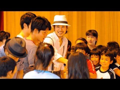 松山ケンイチさんらか?小学校訪問