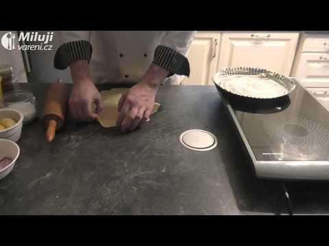 Velikonoční omeleta s bramborami a slaninou