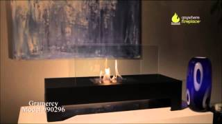 The Gramercy Ethanol Fireplace by Anywhere Fireplace, a rectangular model, is ideal for creating emotional decor. Providing a...