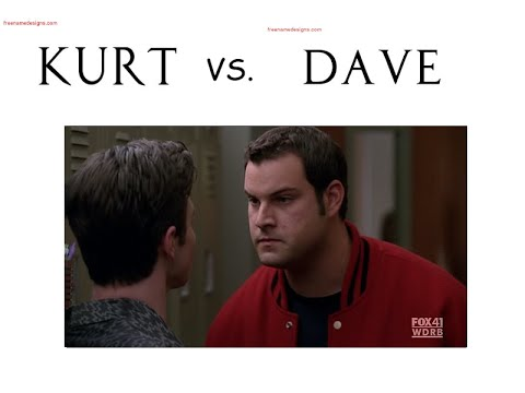 [Glee] Kurt Hummel and Dave Karofsky [SEASON 2] (видео)