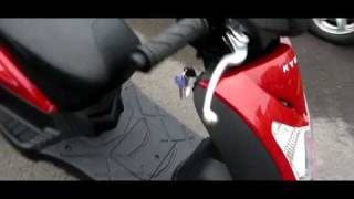 5. Kymco Agility 50 - Starting Up