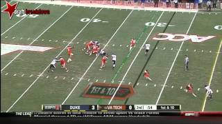 Logan Thomas vs Duke (2013)