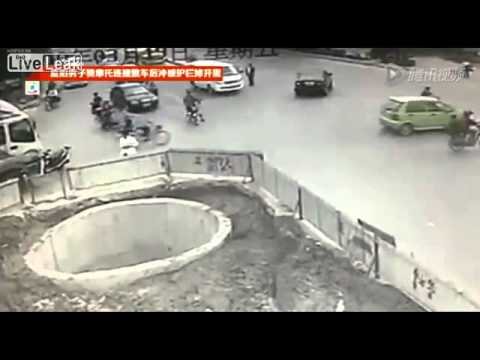 Is This The Worst Scooter Driver In China?