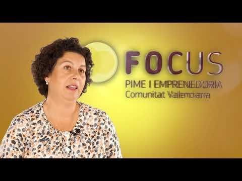 Rosario Donderis, gerente de CREAMA en #FocusPyme y Emprendimiento Marina Alta