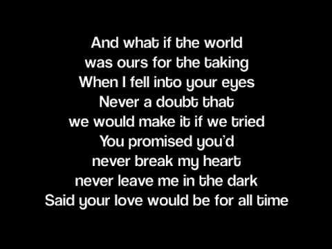 Tekst piosenki Lady Antebellum - When you were mine po polsku