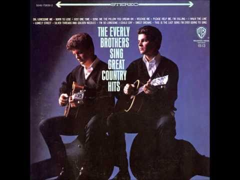 Tekst piosenki The Everly Brothers - I'm So Lonesome I Could Cry po polsku