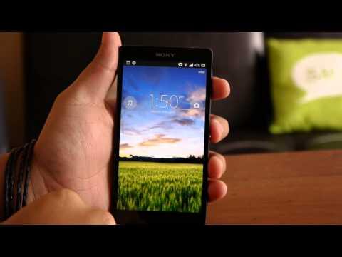Sony Xperia ZL, review en español (видео)