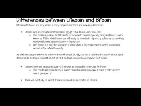 How to Mine your first Litecoin on Microsoft Windows (Video 1 of 5)