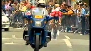 Chateau-Thierry France  city photos gallery : TOUR DE FRANCE 2002 CONTRA RELOJ POR EQUIPOS CHATEAU THIERRY parte 1