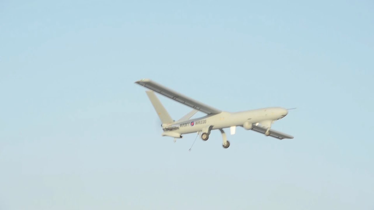 The British Army's Watchkeeper WK450 Arrives in Afghanistan