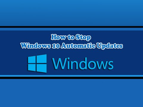 , title : 'How to Stop Windows 10 Automatic Updates'