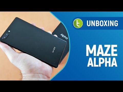 Unboxing e primeiras impressões do Maze Alpha  TudoCelular.com
