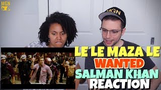 Download Lagu Le Le Maza Le - Wanted | Salman Khan | REACTION Mp3
