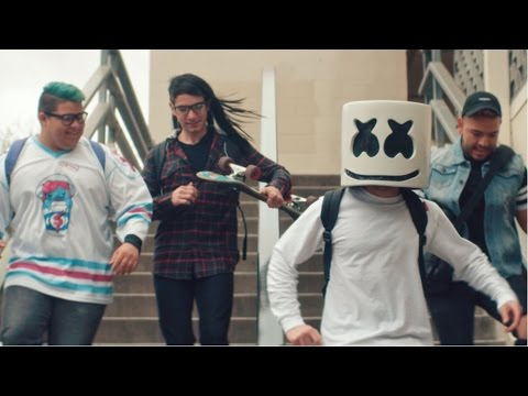 Marshmello - Moving On (Official Music Video) (видео)