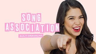 Rise Star Auli'i Cravalho Sings Through ELLE's Song Association Game | ELLE