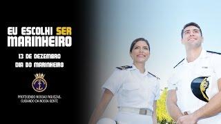 Eu Escolhi Ser Marinheiro. No dia 13 de dezembro a Marinha comemora o Dia do Marinheiro.