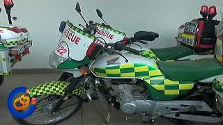 First Responder Bike Ambulance Rescue 1122