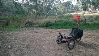 Aldgate Australia  city pictures gallery : Aldgate South Australia to Onkaparinga River Swimming Hole - Recumbent Trike Ride Tour