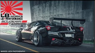 The Making of: The DDE Ferrari 458 Liberty Walk GT Widebody