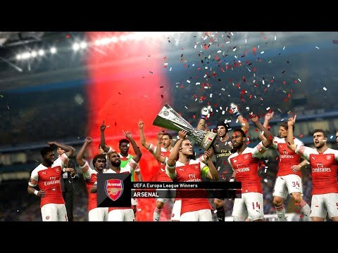 Arsenal vs Chelsea - UEFA EUROPA LEAGUE FINAL 2019 Gameplay