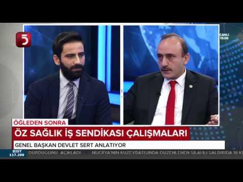 Genel Başkanımız Devlet SERT, TV5 Canlı Yayına Katıldı.