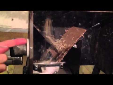 La macchina che pulisce i fagioli