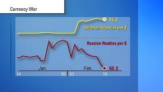 El frágil alto el fuego no evita el derrumbe de la economía ucraniana