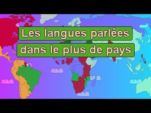 Les langues parlées dans le plus de pays !