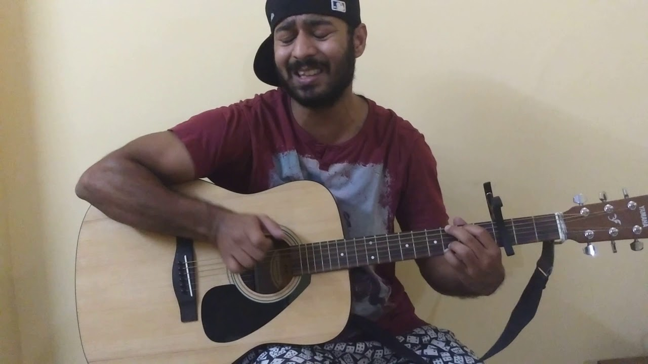 Bollywood mashup guitar cover   easy guitar chords   easy to play with only 3 chords.