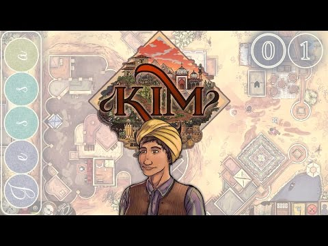 Kim Gameplay ~ Let's Play ~ The Great Game ~ RPG Early Access from Rudyard Kipling Novel