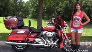 9. Used 2010 Harley Davidson CVO Ultra Classic Motorcycles for sale