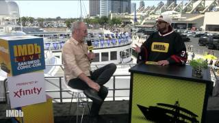 While on IMDb LIVE at San Diego Comic-Con, Presented by XFINITY, Liam Cunningham (Ser Davos Seaworth) tells Kevin Smith ...