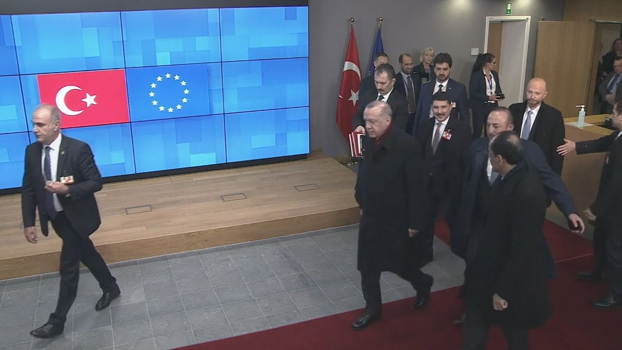 Αποχώρηση Ερντογάν από το Ευρωπαϊκό Συμβούλιο – Απών από τη συνέντευξη Τύπου