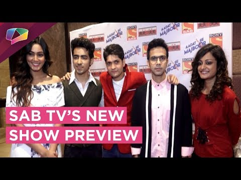 New Show Aadat Se Majboor Preview