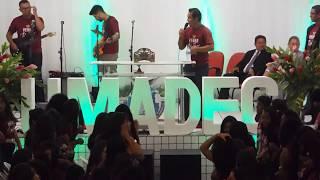Coral UMADEC no 1º dia de Congresso de Mocidade 2017