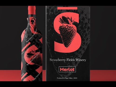 How to Create a Winery Packaging Design in Photoshop