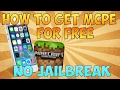 Download Video Download Minecraft Pocket Edition Update FREE from App Store iOS 10-10.2.2 iPhone iPad (NO CRASHING)