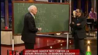 Leopoldo Abadía explica el caso Madoff