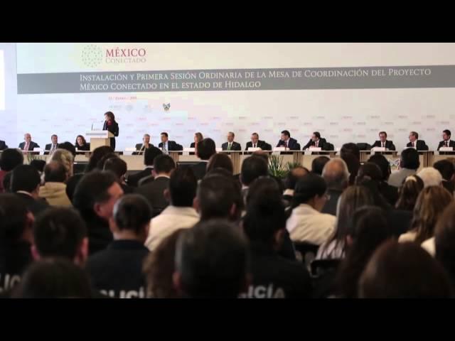 Inicia México Conectado en el estado de Hidalgo