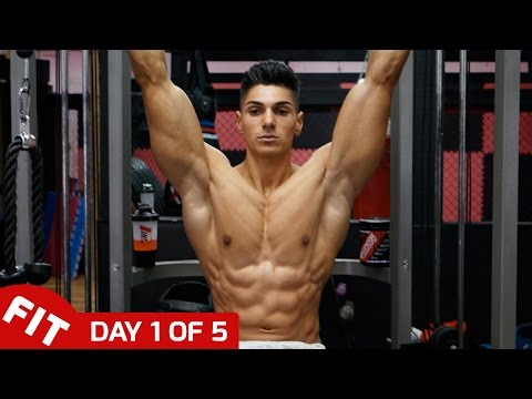 ANDREI DEIU TRAINS BACK & ABS - DAY 1 Of 5