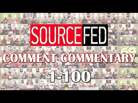 Funniest Moments of Sourcefed Comment Commentary First 100!