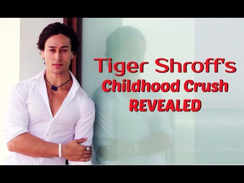 Exclusive: Tiger Shroff Reveals His Childhood Crush!